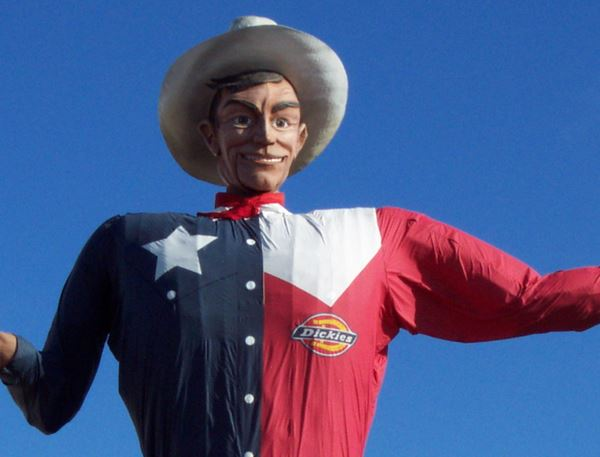 Big Tex Texas not Red State