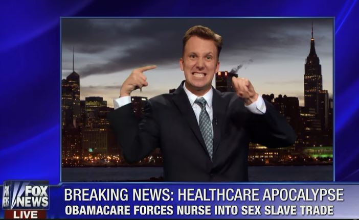 Jon Stewart Obamacare Apocalypse Jordan Klepper