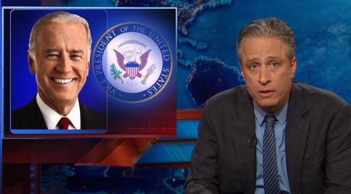 Jon Stewart Joe Biden
