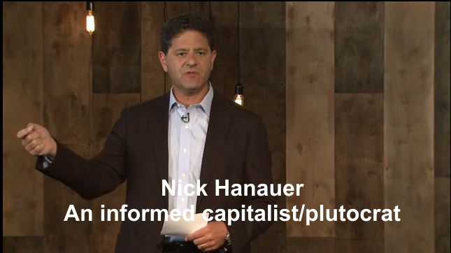 Nick Hanauer TED Talk Plutocrats Pitchforks Capitalists