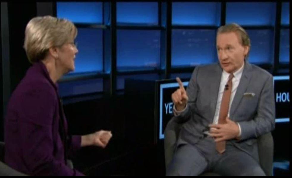 Elizabeth Warren, Bill Maher, Student Loan, Election, 2014