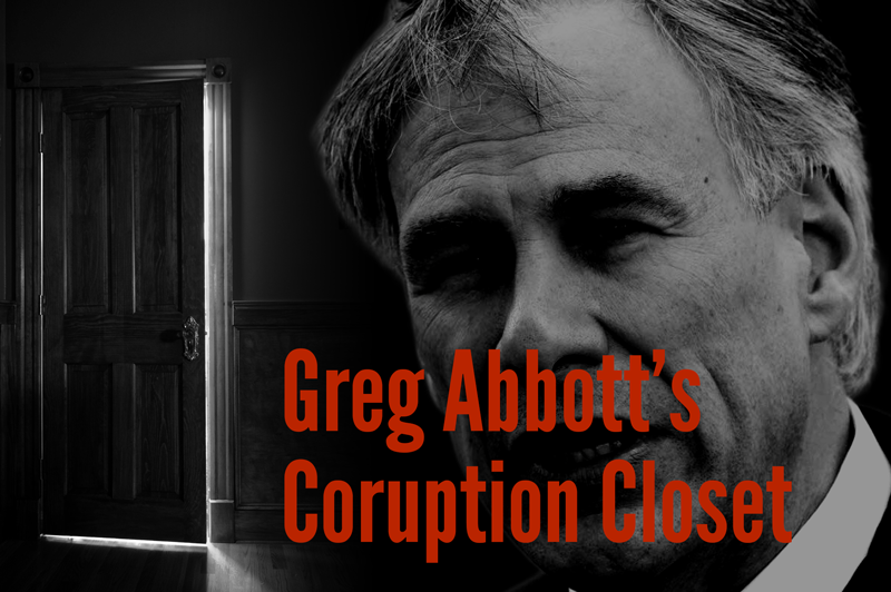 Greg Abbott corruption
