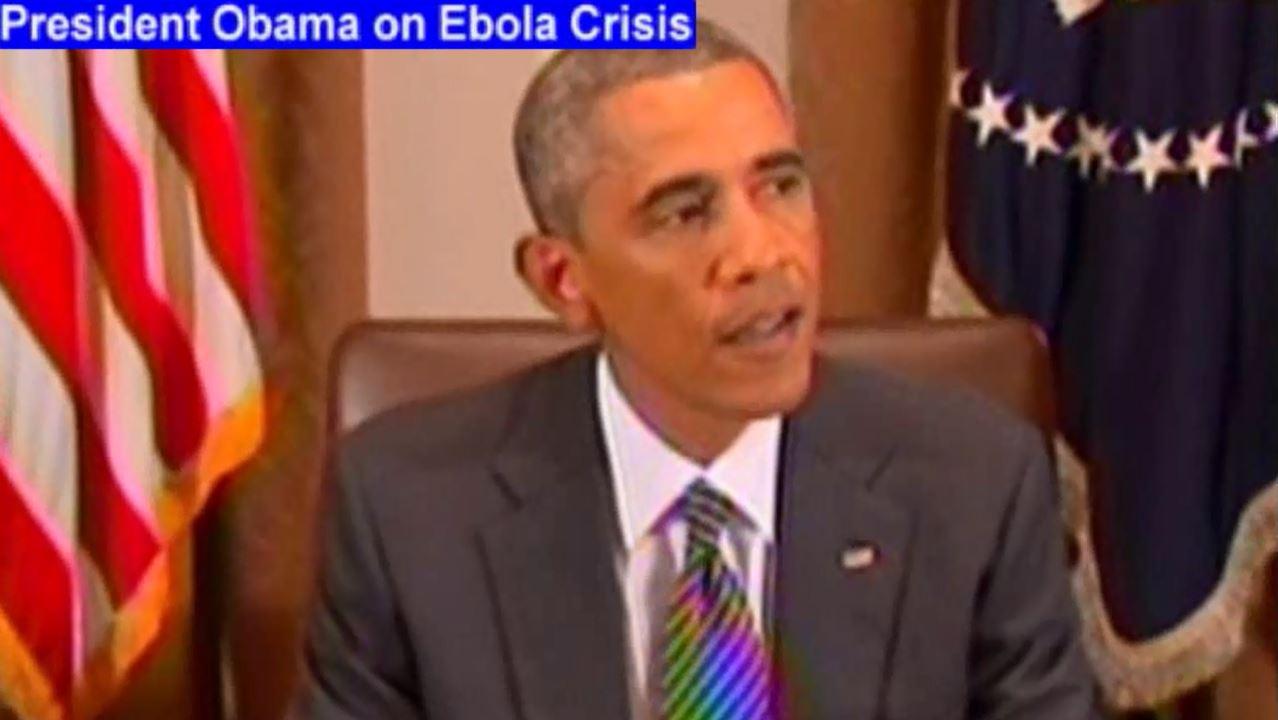 President Obama, Ebola