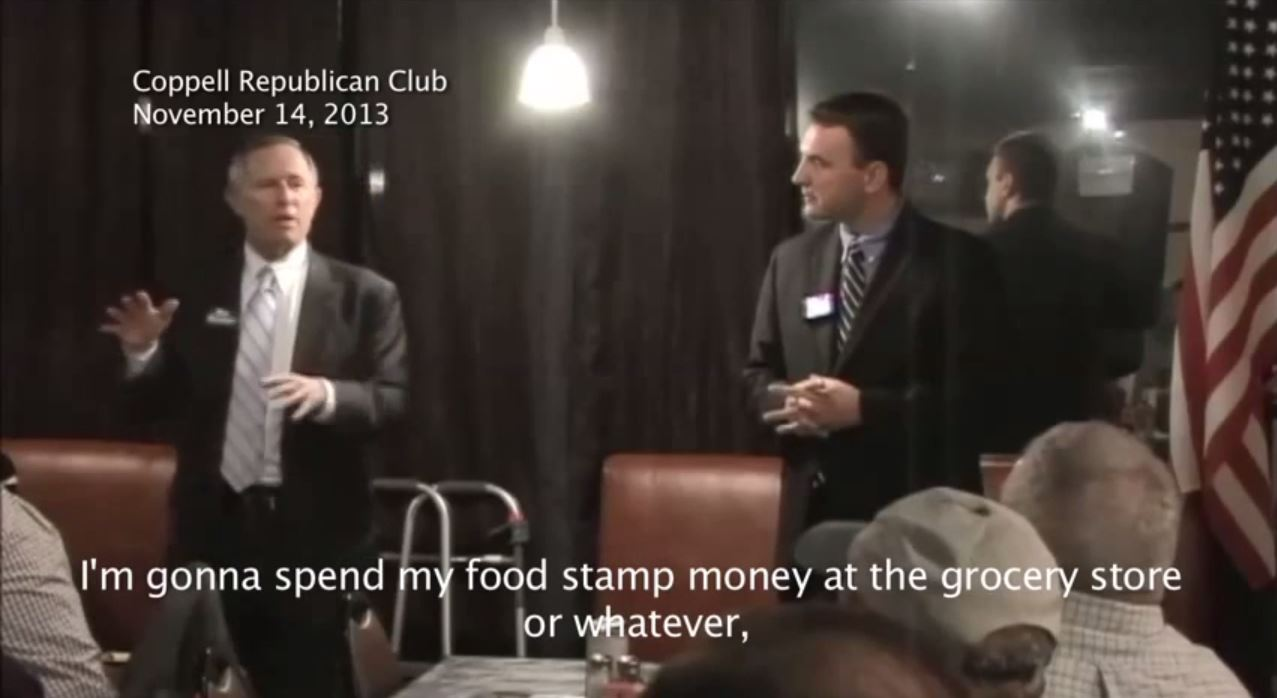 Republican Ron Natinsky Dallas County Judge food stamps