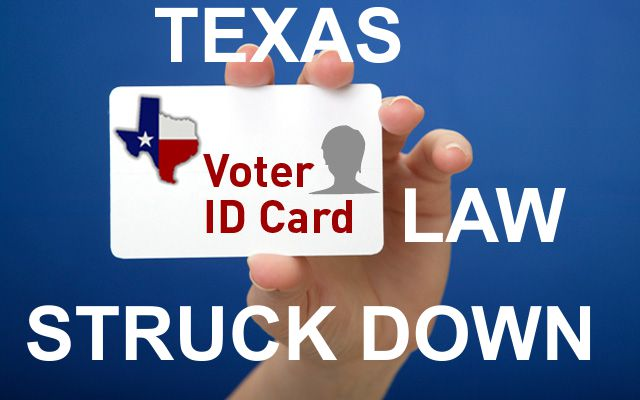 Voter ID Law Struck Down