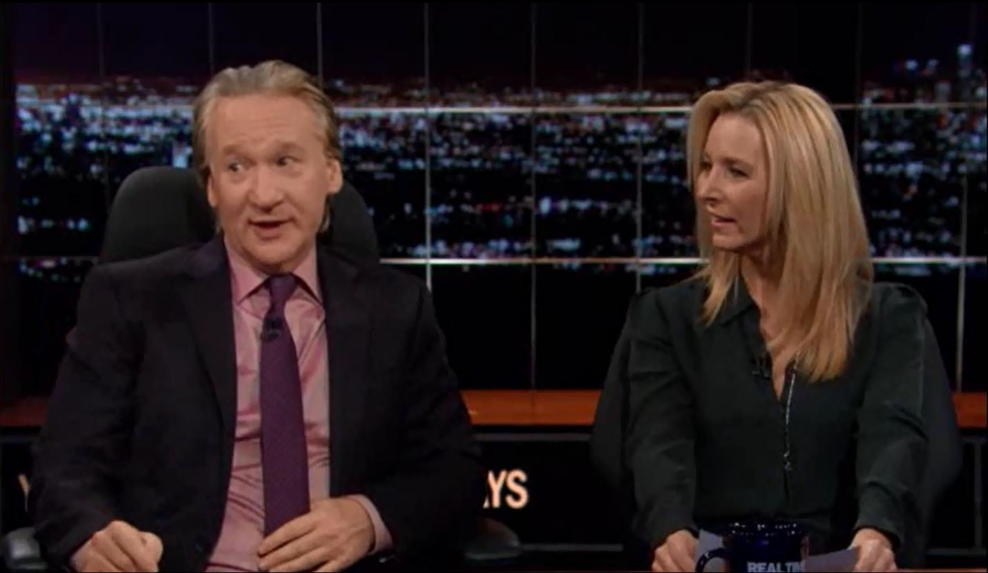 Bill Maher, Lisa Kudrow