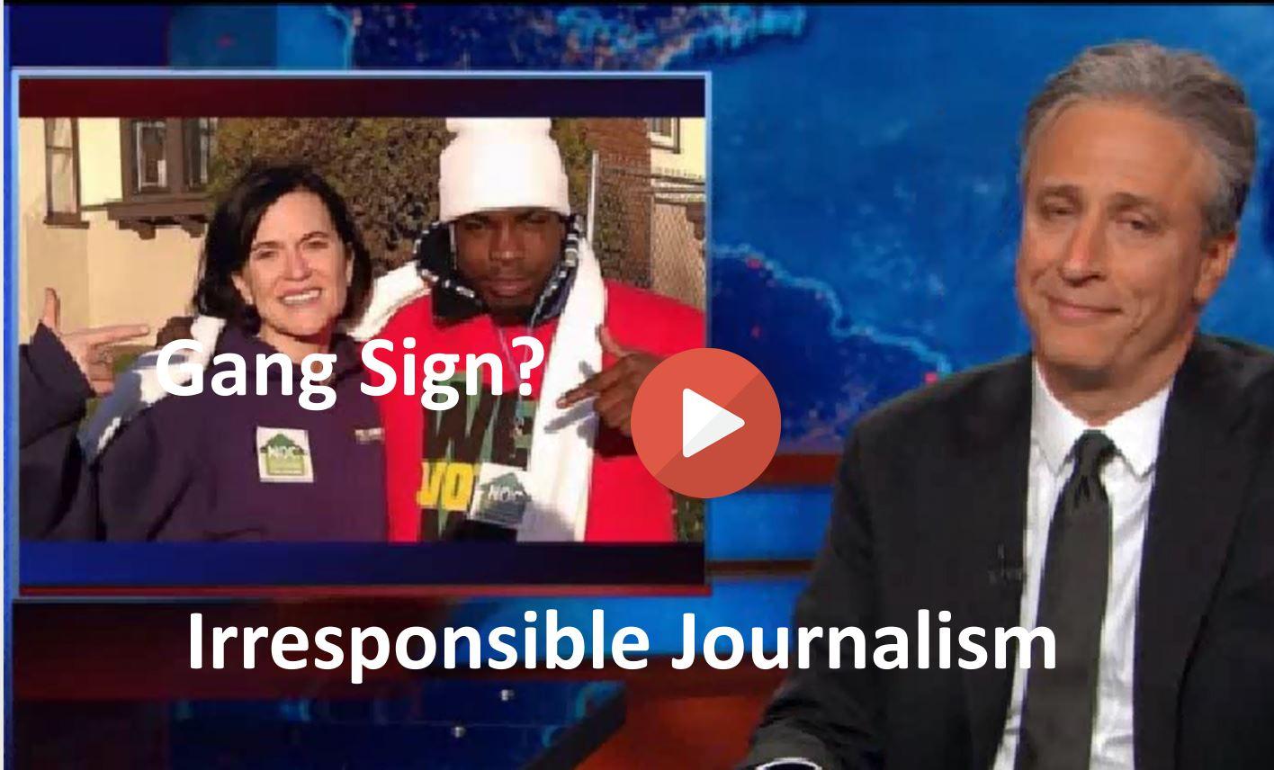 Jon Stewart - From Mayor to gang member- Police use media and prejudice for revenge