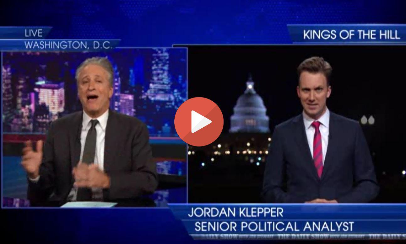 Jon Stewart mocks Democrats for losing by ignoring Obama's successes as GOP wins on Hope & Change.