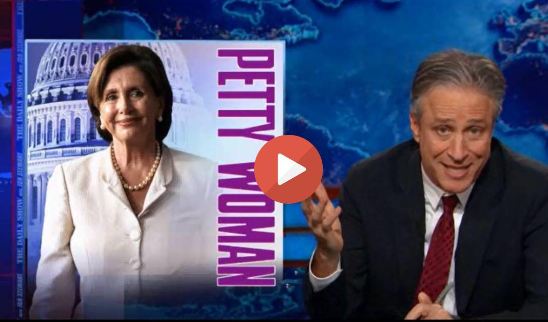 Jon Stewart tells Nancy Pelosi she must go for doing this