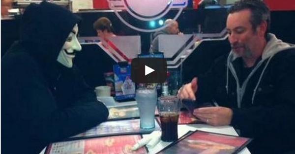 KKK, Anonymous, Frank Ancona, Anons