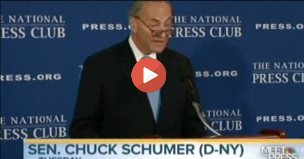 Chuck Schumer & Democrats slammed softlly by Gov Deval Patrick