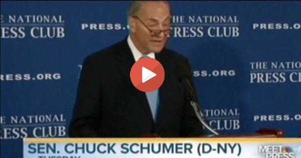 Chuck Schumer & Democrats slammed softlly by Gov Deval Patrick