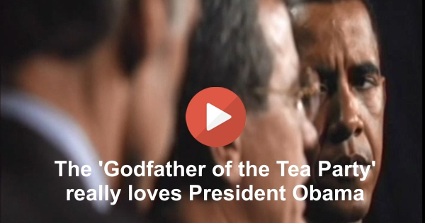 Senator Tom Coburn, godfather of the Tea Party, has a love fest with President Obama on 60 Minutes.