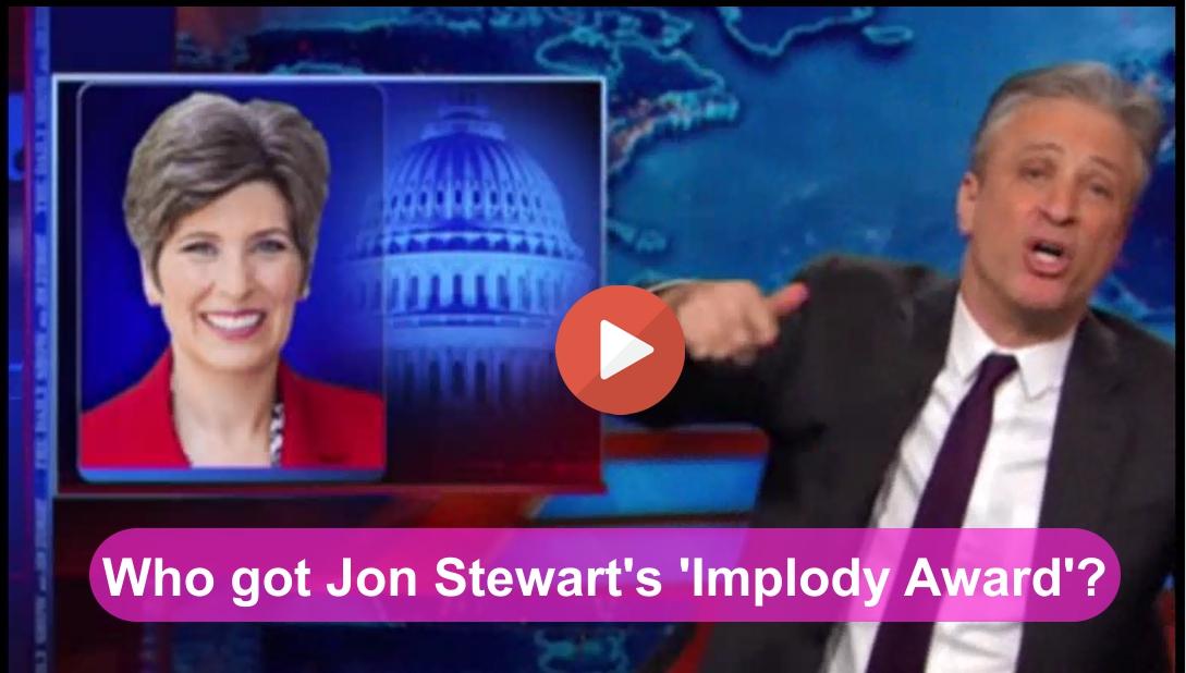 Jon Stewart Implody Award