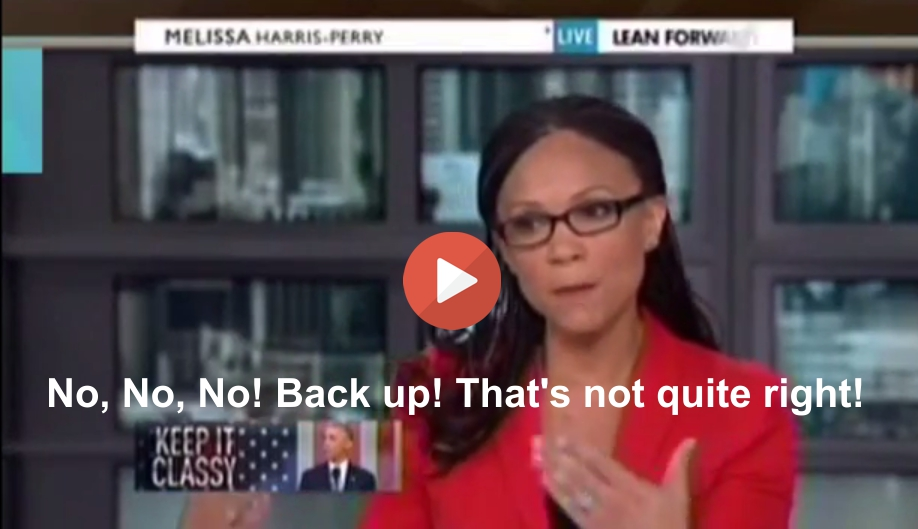 Melissa Harris-Perry calls out GOP operative Robert Traynham at the point of his lie