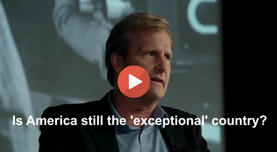 America exceptionalism is not a given it is what we should work toward.