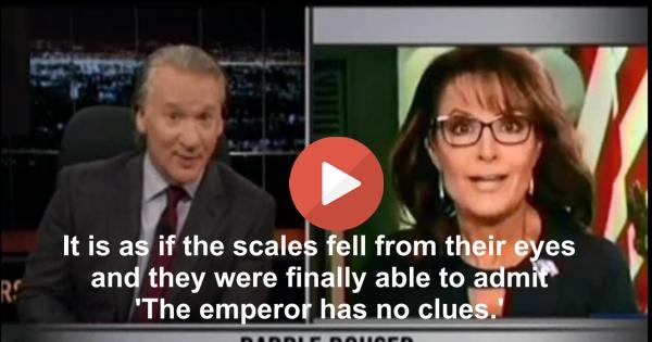 Bill Maher to Republicans slamming Sarah Palin - 'What took you so long' (VIDEO)
