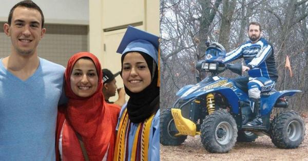 Craig Stephen Hicks murdered Deah Shaddy Barakat, Yusor Abu-Salha, Razan Abu-Salha