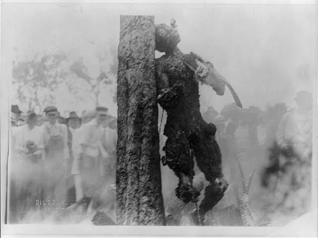 Jesse Washington hanging