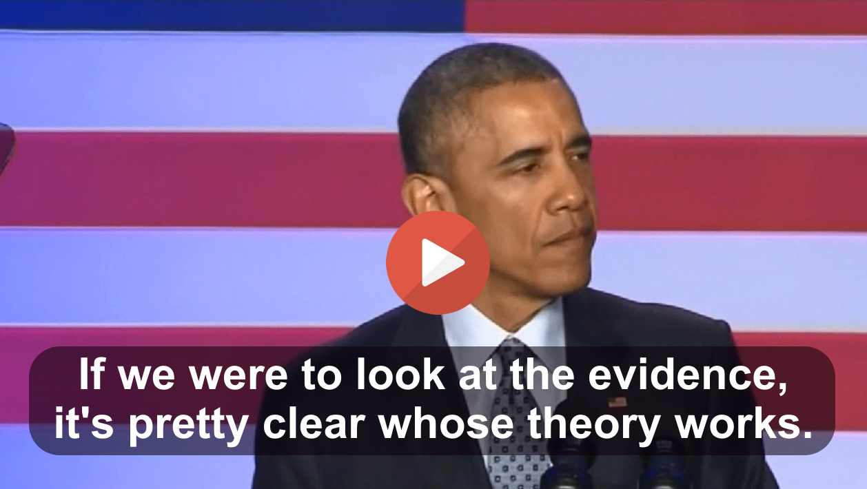 Obama calls out Republicans for being wrong about his successful policies