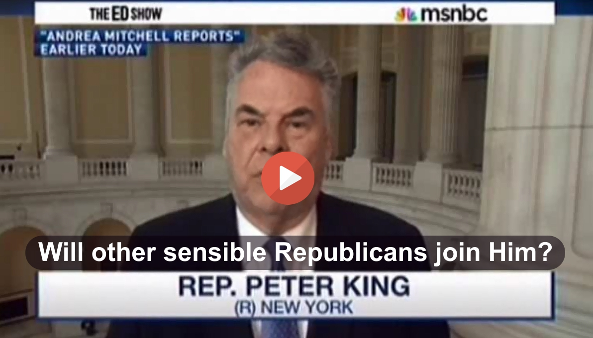 Republican Congressman - 'Sometimes I believe Republicans live in an unreal world'
