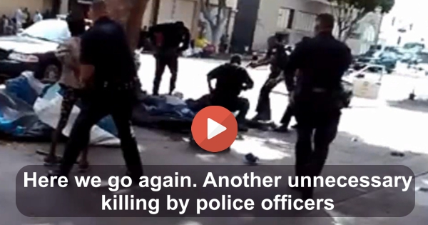 Another unecessary killing by police