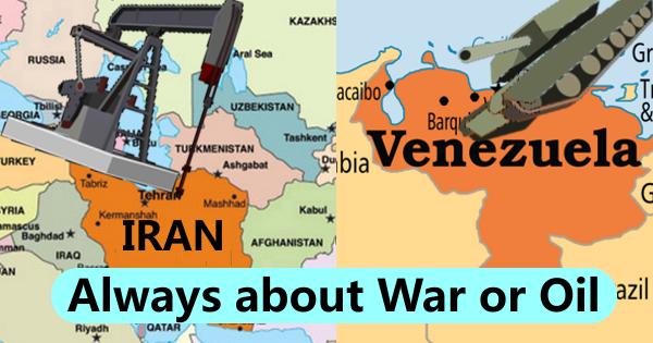 Iran Venezuela War Oil