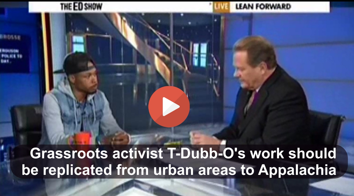 T-Dubb-O is an activist we should clone throughout America
