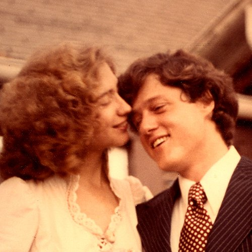 Hillary Clinton and Bill Clinton Wedding
