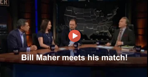 Bill Maher meets his match