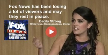 Cecily Strong Fox News White House Correspondents' Dinner