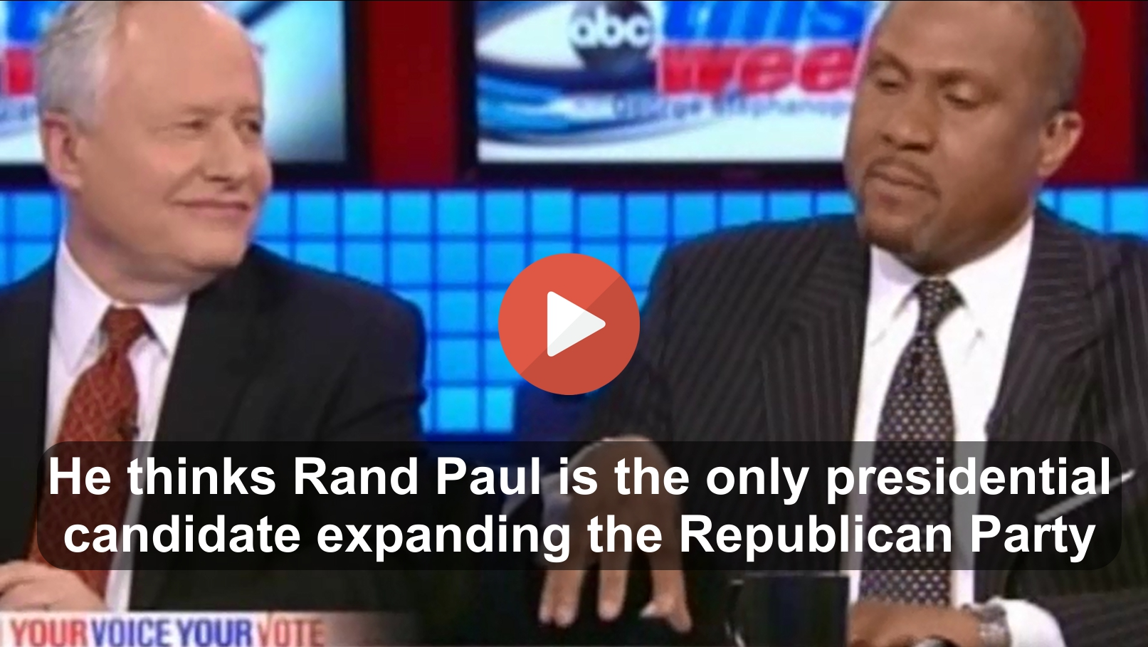 Is Rand Paul the only Republican attempting to expand the Party (2)