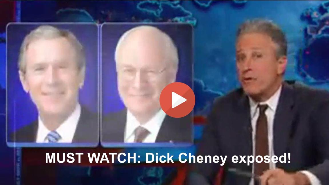 Jon Stewart Dick Cheney