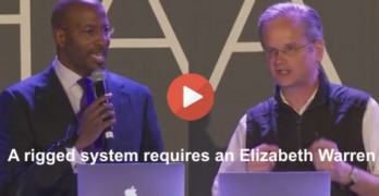 Lawrence Lessig & Van Jones on a rigged system Elizabeth Warren 4