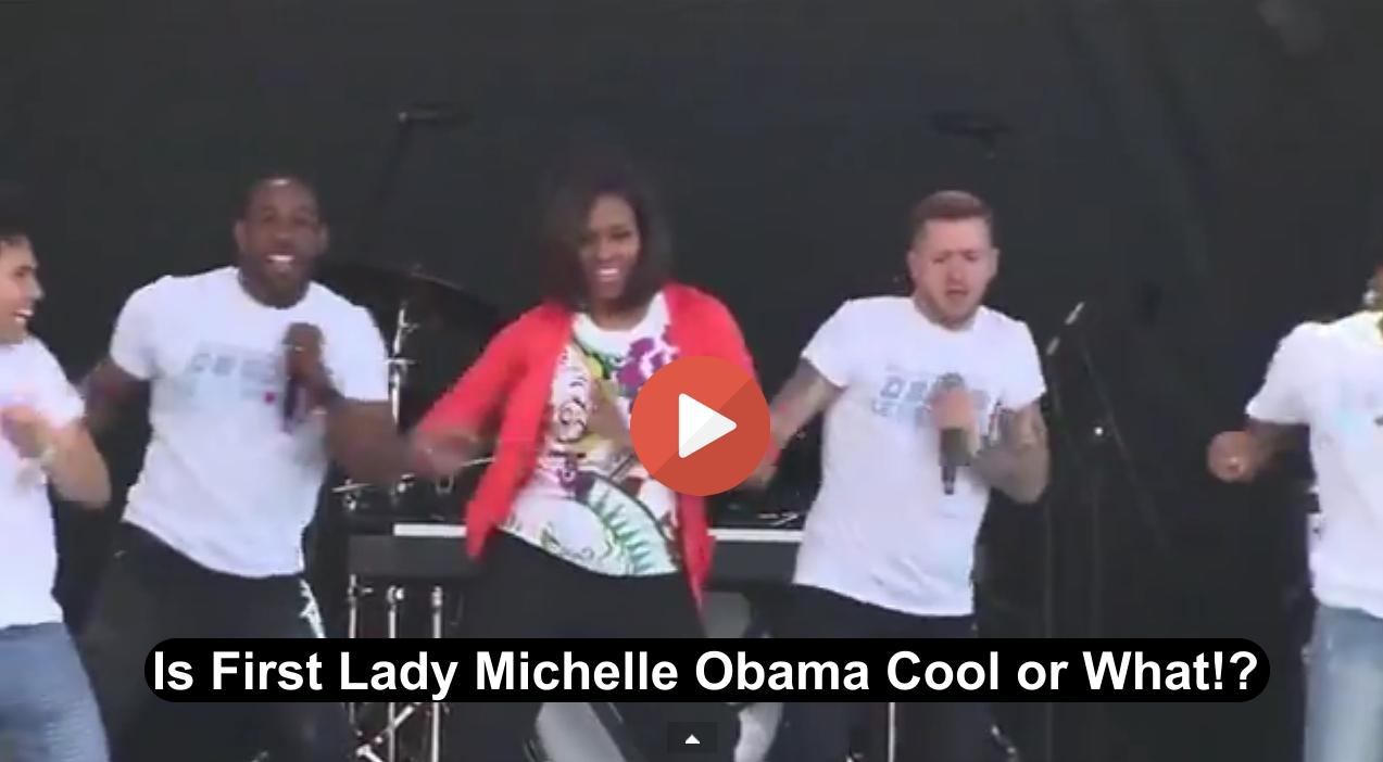 Michelle Obama Easter Egg Roll White House