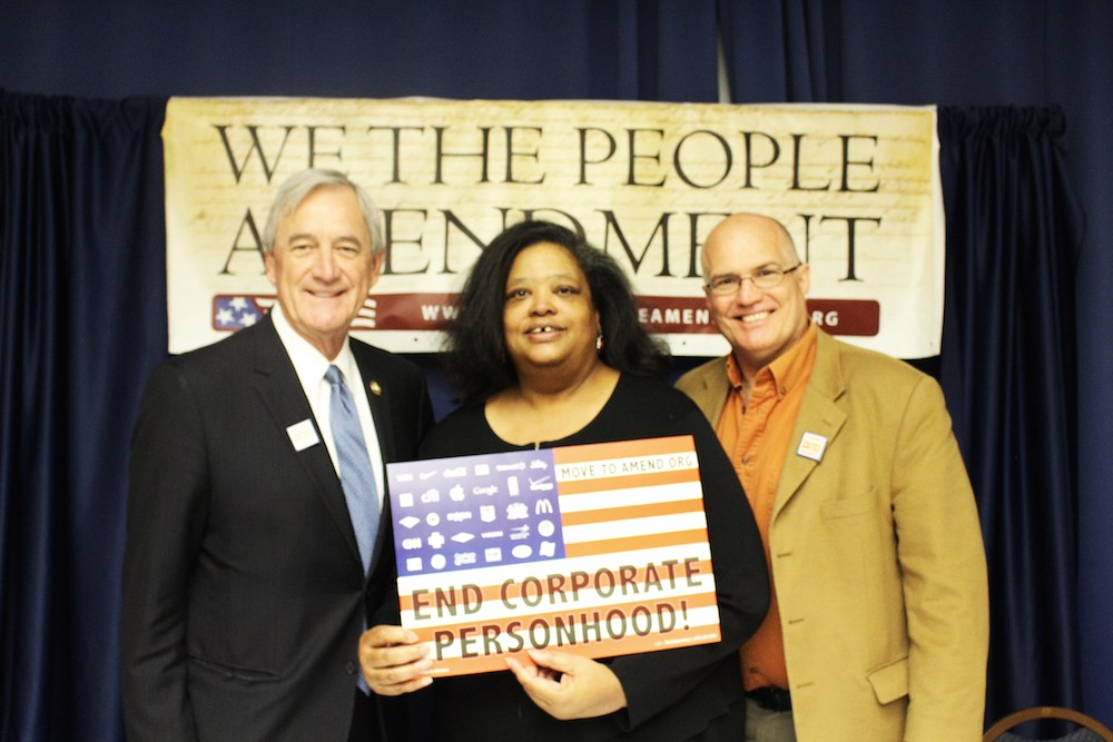 Move to Amend We The People Amendment David Cobb George Friday