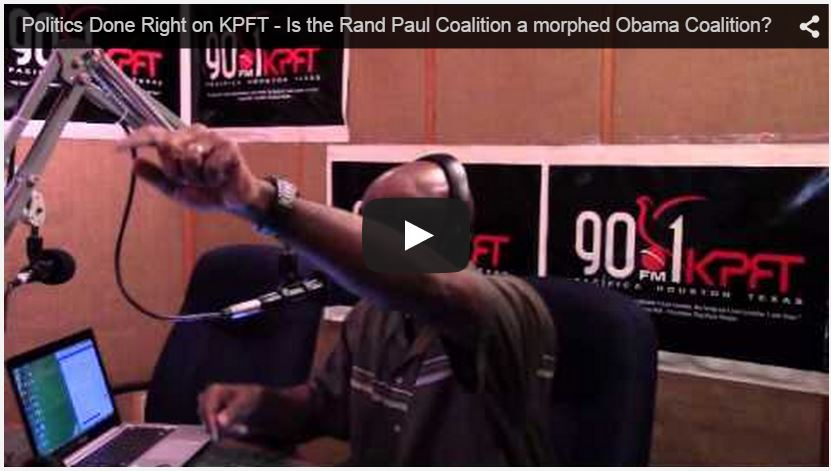 Politics Done Right on KPFT - April 9th, 2015