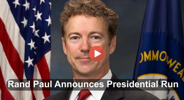 Rand Paul announced for Presidency