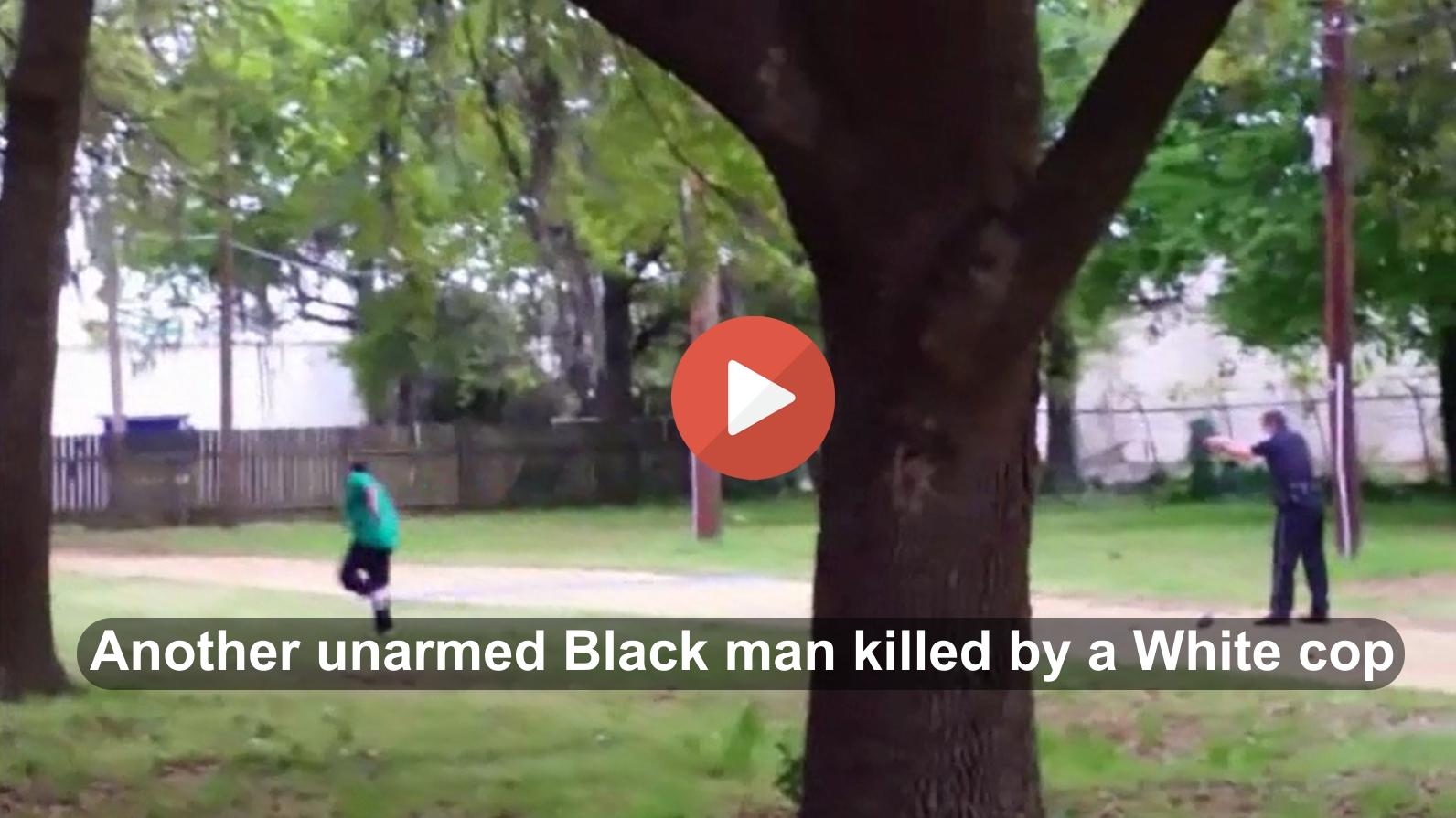 White South Carolina Police officer kills unarmed Black man Walter Scott
