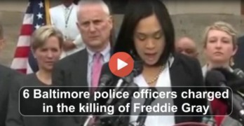 6 Baltimore police officers charge for killing Freddie Gray