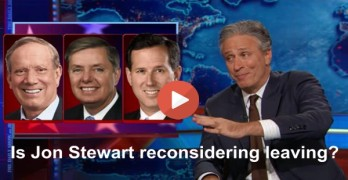 Jon Stewart - Is he considering not leaving