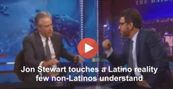 Jon Stewart explores problem with 2016 pandering for Latinos