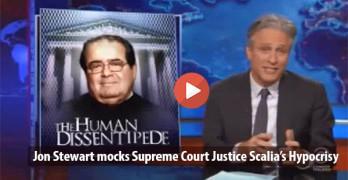 Antonin Scalia Jon Stewart 2