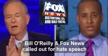Bill O'Reilly & Fox News justifiably called out for seeding the type hate rhetoric used by Dylann Roof