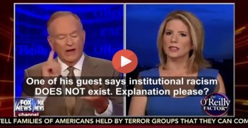 Bill O'Reilly almost pops a vein when asked if he has any black friends