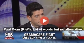 Fox News' Chris Wallace calls out Paul Ryan & GOP on Obamacare