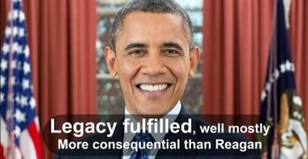 President Obama Legacy Fulfilled