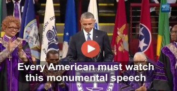 President Obama monumental speech and eulogy at Clementa Pinckney funeral