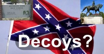 confederate flag racism decoy