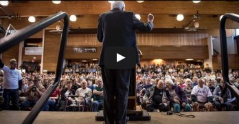 Bernie Sanders Madison Wisconsin